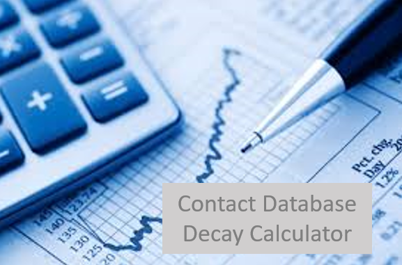 Contact Database Decay Calculator